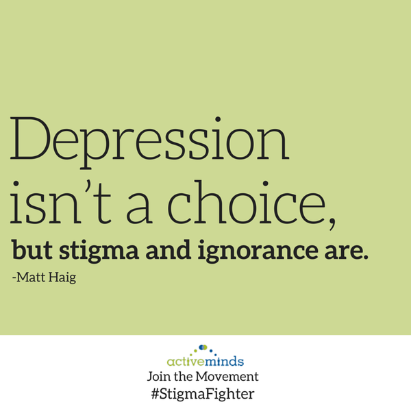 #EndTheStigma: Mental Illnesses