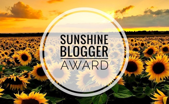 You are my SUNSHINE [Blogger Award]!